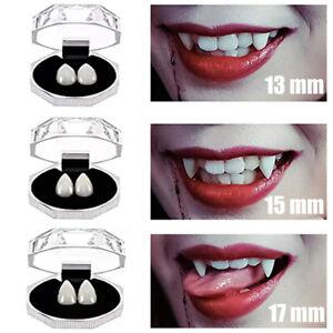 9 Stück Falsche Zähne weiß falsches Gebiss lustig Scherzgebiss Faschingszähne