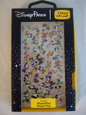 DISNEY D-TECH OTTERBOX MICKEY MOUSE CLEAR CASE FOR IPHONE 7P/8P   NEW
