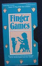 Finger Games Newborn to Five [VHS]