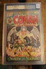 CONAN THE BARBARIAN #22 CGC GRADED AT 9.4