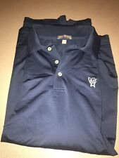 Peter Millar Summer Comfort Golf Polo Navy Blue XL
