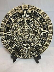 Aztec Calendar Wall Plaque Pre-owned Great Condition