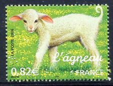 STAMP / TIMBRE FRANCE  N° 3900 ** SERIE NATURE FAUNE / L'AGNEAU
