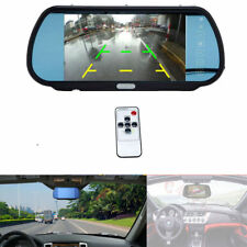 7Inch TFT LCD Car Rear View Parking Rearview Monitor Mirror for Backup Camera US