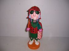 "1997 Hallmark ShoeBox Greetings Maxine Nutcracker Chop Till You Drop 11"" Tall"