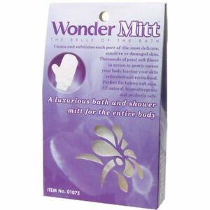 Wonder Mitt - Exfoliating Pore Cleansing Glove / Skin Cell Renewal / Massage