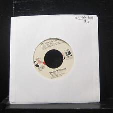 "Vesta Williams - Once Bitten Twice Shy 7"" VG+ AM-2880 Promo Vinyl 45"