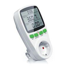 Arendo Energiekostenmessgerät / Stromverbrauchszähler mit Kinderschutzsicherung