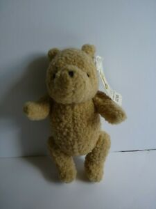 """Disney Classic Gund Winnie the Pooh Bear Small Jointed Plush 6"""" Tall with Tag"""