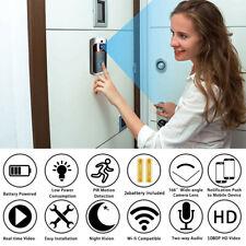Wireless Video Doorbell WiFi Smart Security Camera 1080p HD Intercom Phone R ZL