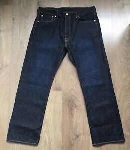 LEVIS 501 MENS W36 L30 CLASSIC STRAIGHT BUTTON FLY DENIM JEANS LEVI STRAUSS