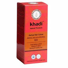 Khadi Herbal Hair Colour Pure Henna Red 100 G Amla Jatropha