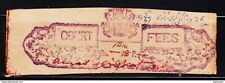 INDIAN PRINCELY STATE KHANTI 8AN CF REVENUE RARE OLD FISCAL STAMPS #C6
