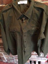 Rare Martunique LTD Army Tactical Mens Shirt Combat Uniform Military Olive 20/37