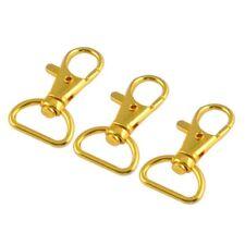 3 pezzi di metallo in oro di metallo Aragosta Claw Clasp Girevole Trigger P V8E0