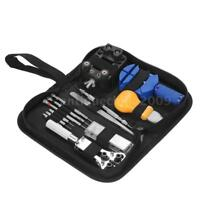 Watch Repair Tool Kit Opener Link Remover Spring Bar W/ Carry Case 30pcs B4L4