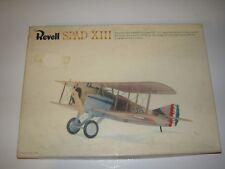 Revell SPAD XIII Frank Luke's Plane Kit No. H-290:150 Painted & Glued