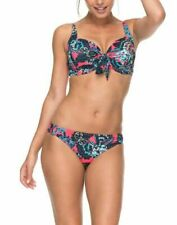 Roxy Bikini Set Floral Print Size Medium