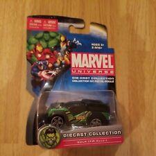 2011 Maisto Marvel Universe Die-cast Hulk FM Rover SUV Green Black