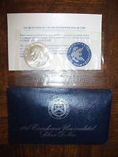 1974 S Eisenhower 40% Silver Dollar 60 UNC in Cello from US Mint FREE SHIPPING