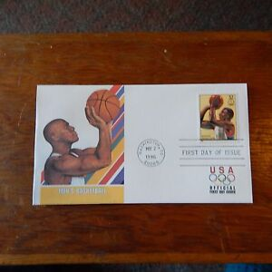 Estate Find - FDC OLYMPICS, Men's Basketball May 2, 1996 Centennial Games