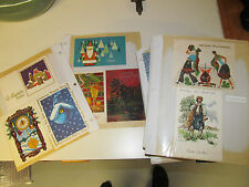 Large lot of Vintage Christmas Cards from Around the World more than 150