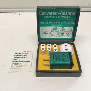 Archer Radio Shack Voltage Converter Adapter Kit 273-1403