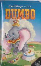 WALT DISNEY Dumbo VHS BLACK DIAMOND EXCELLENT