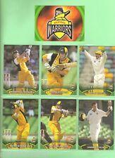 TOPPS 2002  ACB GOLD CRICKET CARDS - WESTERN AUSTRALIAN  WARRIORS