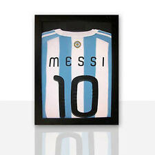 Frame For Any Signed Football Shirt With Hanging Kit