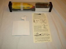 AMERICAN FLYER INSERT AND INSTRUCTIONS FOR 25515 ROCKET SLED CAR NEW REPRO ITEMS