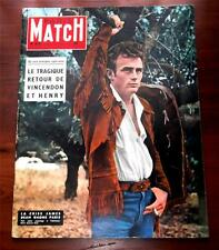 Paris Match  #416  March 30,1957 James Dean Cover Story