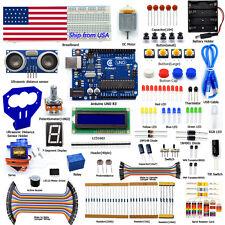 Adeept Arduino Starter kit for Arduino UNO R3 Ultrasonic Distance Sensor servo