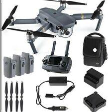 DJI Mavic Pro Quadcopter (Fly More Combo) + Accessories Drone 4K -NOB