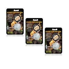 3 Stück Exo Terra Food Cup Holder, Futterbehälter Reptilien, Gecko .....  PT3259