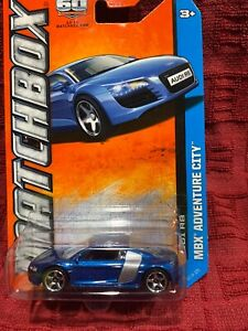 Matchbox Audi R8 [Blue/Silver] - New/Sealed/Rare