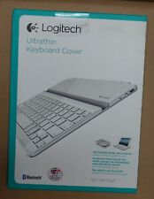 Logitech Ultrathin Keyboard cover Nordic iPad 2,3,4 white/silver magnetic clip