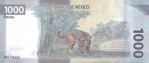 MEXICO 1000 PESOS 2020 P-NEW UNC AB SERIES