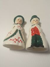 Vintage Olde Time Family Bells Holiday Memories Collector Ornament Set Of Two