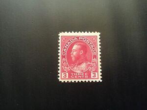 """JPS_Stamps! #109...""""King George V 'Admiral', 3¢ carmine"""" (vg, hinge)"""