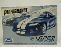REVELL Model PERFORMANCE: VIPER RT10 GTS COUPE White 1:25 Scale New Dodge Kit