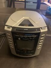 Timex T600B Indiglo Digital Alarm Clock Am/Fm Radio Cd Player Nature Sounds Nice