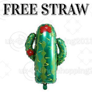 Cactus Foil Balloon Wild 1 Cowboy 18thBirthday jungle theme Party DecorationBaln