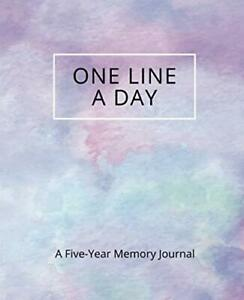 One Line a Day: A Five-Year Memory Journal for Daily Reflecti... by Memoru Press
