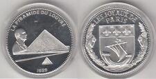 Médaille en argent La pyramide du Louvre - Les Joyaux de Paris 1989