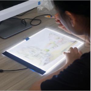 Diamond  Painting Tools Kit A4 LED Light Tablet Board Pad USB type