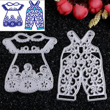 Metal Colthes Cutting Dies Stencil Scrapbooking Album Paper Card Embossing Craft