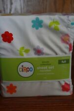 Circo Bloom Collection Full Microfiber Sheet Set NEW Floral