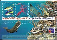 NEW ZEALAND Marine life / Fish Mini Sheet MINT NH