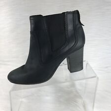 70a586f6162 Clarks Bendables Women s Ankle Boots Black Leather Size 6.5 M